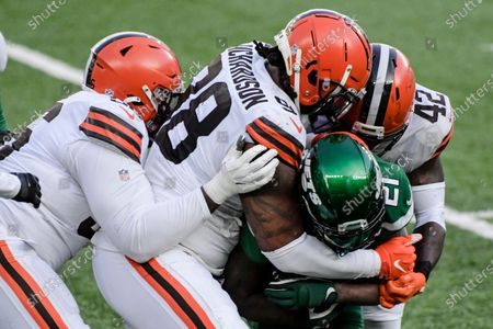 Editorial picture of Browns Jets Football, East Rutherford, United States - 27 Dec 2020