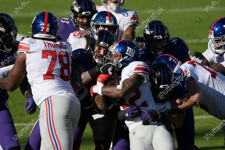 Editorial image of Giants Ravens Football, Baltimore, United States - 27 Dec 2020