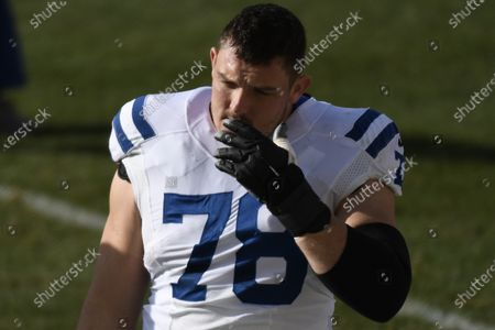 Indianapolis Colts center Ryan Kelly (78) during an NFL football game against the Pittsburgh Steelers, in Pittsburgh