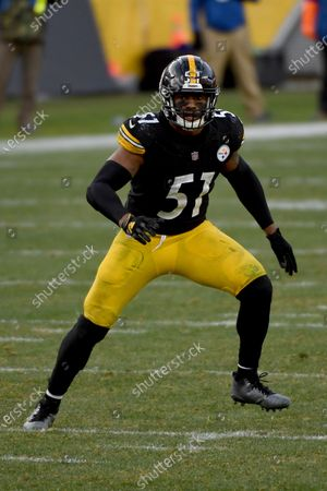 Pittsburgh Steelers inside linebacker Avery Williamson (51) in action during an NFL football game against the Indianapolis Colts, in Pittsburgh