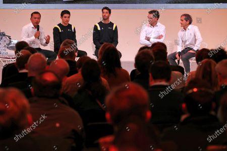 Editorial image of Formula 1, Renault launch - 12 Feb 2020