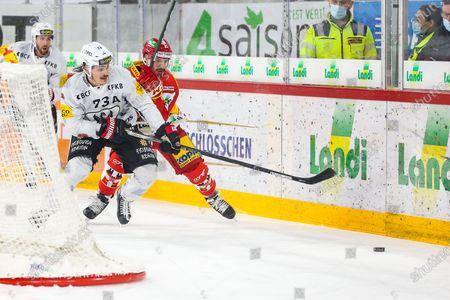 Editorial image of EHC Biel-Bienne v Friborg-Gotteron, National League Hockey, Switzerland - 27 Dec 2020
