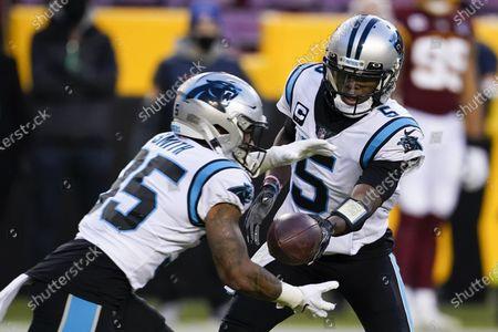 Editorial image of Panthers Washington Football, Landover, United States - 27 Dec 2020