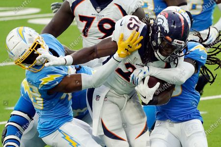 Editorial image of Broncos Chargers Football, Inglewood, United States - 27 Dec 2020