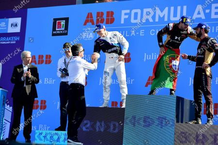 Editorial photo of Formula E, Marrakesh E-prix, Circuit International Automobile Moulay El Hassan Marrakesh, Morocco - 29 Feb 2020