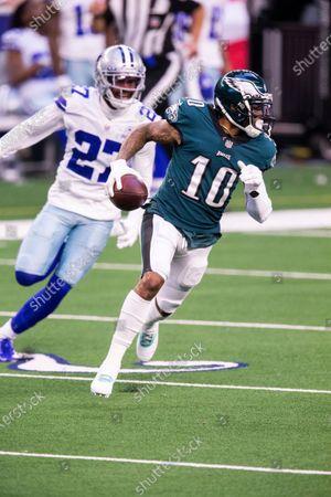 Editorial picture of Eagles Cowboys Football, Arlington, United States - 27 Dec 2020