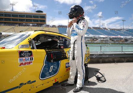 Stock Picture of Dale Earnhardt Jr., JR Motorsports Chevrolet Hellmann's, Copyright: Chris Graythen/Getty Images.