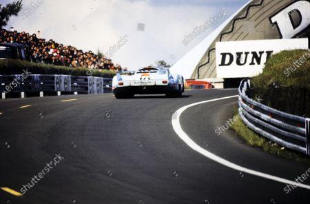Stock Image of Pedro Rodriguez / Jackie Oliver, John Wyer Automotive Engineering, Porsche 917 LH.