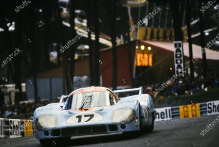 Jo Siffert / Derek Bell, John Wyer Automotive Engineering, Porsche 917 LH.