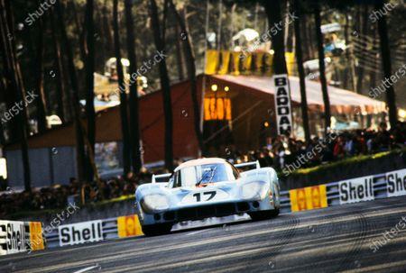 Stock Photo of Jo Siffert / Derek Bell, John Wyer Automotive Engineering, Porsche 917 LH.