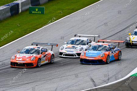 Stock Photo of Max van Splunteren (NED, Team GP Elite), Laurin Heinrich (DEU, MRS GT-Racing) and Julian Hanses (DEU, Lechner Racing Middle East)