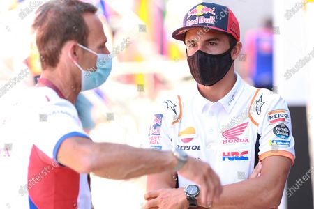 Alberto Puig, Repsol Honda Team Team Principal, Marc Marquez, Repsol Honda Team .