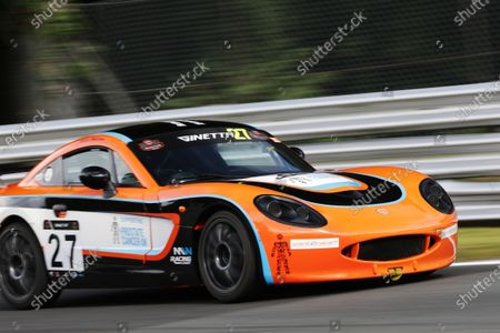Editorial picture of Ginetta G40 Cup, Oulton Park, Oulton Park Circuit, United Kingdom - 01 Aug 2020