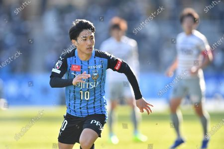 Editorial picture of Emperor's Cup JFA 100th Japan Football Championship Semi-final - Kawasaki Frontale 2-0 Blaublitz Akita, Kawasaki, Japan - 27 Dec 2020
