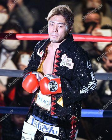 Masayuki Ito - Boxing : 10R lightweight bout at Sumida City Gymnasium in Tokyo, Japan.