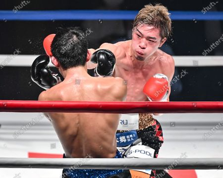 Editorial picture of Boxing: 10R lightweight bout, Tokyo, Japan - 26 Dec 2020