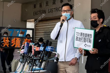 Editorial picture of Former Democratic Party lawmaker Lam Cheuk-ting charged in Hong Kong, China - 28 Dec 2020