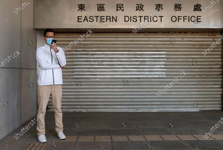 Editorial photo of Former Democratic Party lawmaker Lam Cheuk-ting charged in Hong Kong, China - 28 Dec 2020