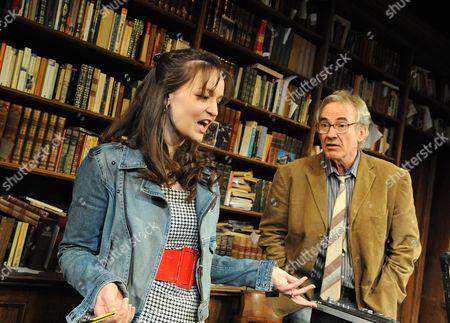 Larry Lamb ( Frank ) and Laura Dos Santos ( Rita )