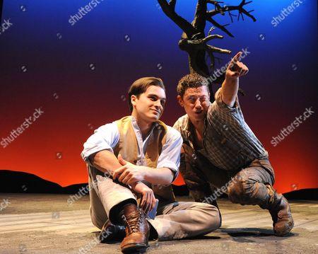 Michael Malarkey ( Robert ) and Michael Thomson ( Andrew )