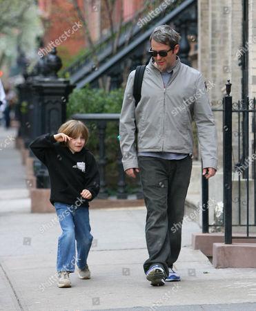 Mathew Broderick and son James Wilke Broderick