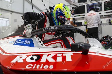Felipe Massa (BRA), Venturi climbs overtakes of his car