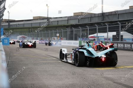 Editorial picture of Formula E, Berlin E-Prix VI, Berlin Tempelhof Airport, Germany - 13 Aug 2020