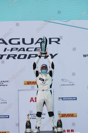 Simon Evans (NZL), Team Asia New Zealand 1st position,  on the podium