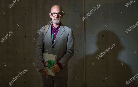 """Composer and singer Michael Stipe poses for portraits during the presentation of his photography book """"Our Interference Times: a visual record"""", in Rome. Stipe turns 61 on Jan. 4"""
