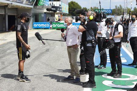 Editorial picture of Formula 1, Spanish GP, Circuit de Barcelona-Catalunya, Spain - 16 Aug 2020