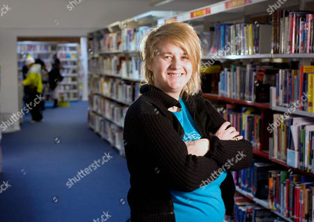 Editorial image of Author Saci Lloyd at Newham Sixth Form College where she is a media studies teacher, London, Britain - 20 Jan 2010