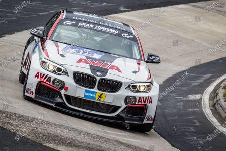 #315 Mathol Racing BMW M235i Racing: Andres Serrano, Volker Wawer