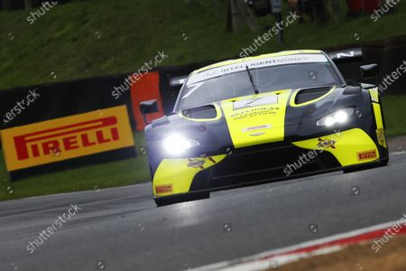 Stock Photo of #7 Andrew Howard / Jonny Adam - Beechdean Aston Martin Vantage AMR GT3