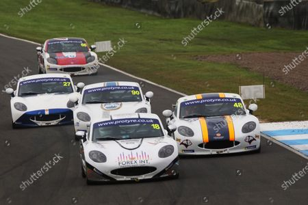 Editorial photo of Ginetta GT5 Challenge, Knockhill, Knockhill Racing Circuit, United Kingdom - 29 Aug 2020