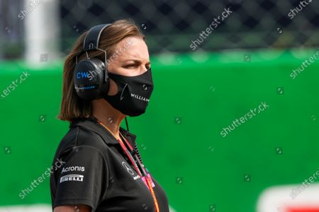Stock Picture of Claire Williams, Deputy Team Principal, Williams Racing