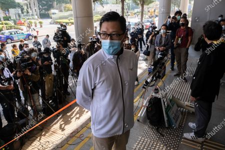 Editorial image of Ex-Hong Kong lawmaker Lam Cheuk-ting arrested again over Yuen Long mob attacks in China - 28 Dec 2020