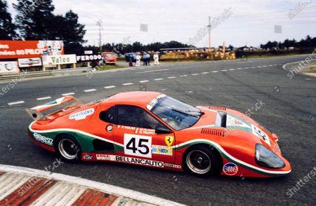 Fabrizio Violati / Duilio Truffo / Maurizio Flammini, Scuderia Supercar Bellancauto, Ferrari 512 BB/LM.