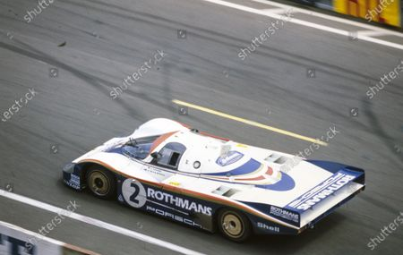 Jochen Mass / Vern Schuppan, Porsche System, Porsche 956.
