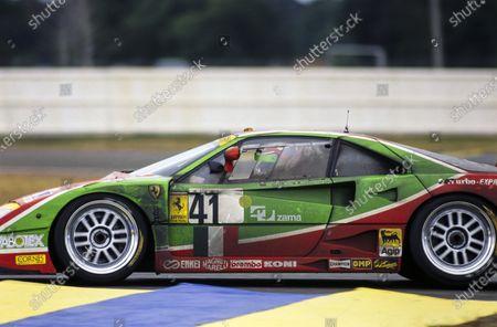 Gary Ayles / Massimo Monti / Fabio Mancini, Ennea SRL, Ferrari F40 GT Evoluzione LM.