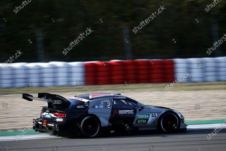 Stock Picture of Jamie Green, Audi Sport Team Rosberg, Audi RS 5 DTM.