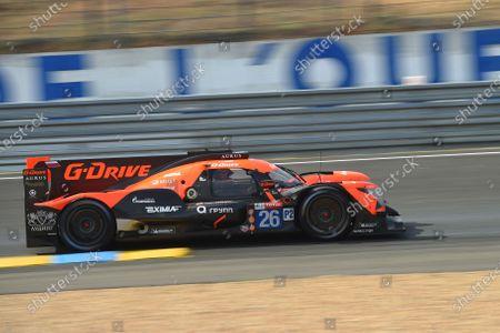 #26 G-Drive Racing Aurus 01 - Gibson: Roman Rusinov, Jean-Eric Vergne, Mikkel Jensen.