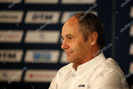 Stock Image of Gerhard Berger, ITR Chairman.