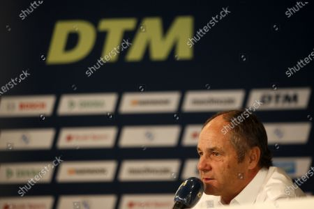 Stock Picture of Gerhard Berger, ITR Chairman.