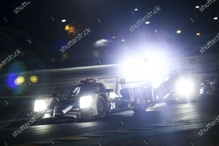 #24 Nielsen Racing Oreca 07 - Gibson: Garret Grist / Alex Kapadia / Anthony Wells