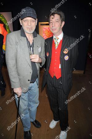 Miles Chapman with Duggie Fields