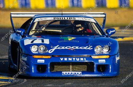 Jacques Laffite / Michel Maisonneuve / Christophe Dechavanne, Jacadi Racing, Venturi 500 LM - PRV.