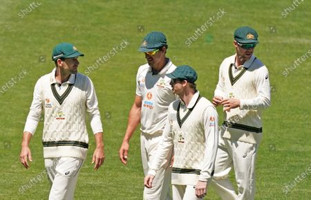 Editorial image of Test Match between Australia and India - day four, Melbourne - 29 Dec 2020
