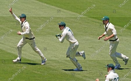 Editorial photo of Test Match between Australia and India - day four, Melbourne - 29 Dec 2020