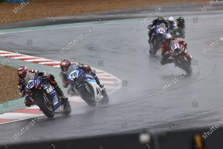 Danny Webb, WRP Wepol Racing, Hikari Okubo, Dynavolt Honda.