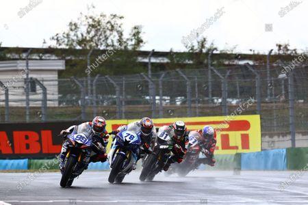 Stock Photo of Danny Webb, WRP Wepol Racing, Hikari Okubo, Dynavolt Honda.